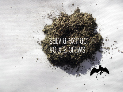 Standardized Salvia Extract 40x 2 gram