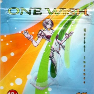 One Wish Herbal Incense 3 Gram Pack